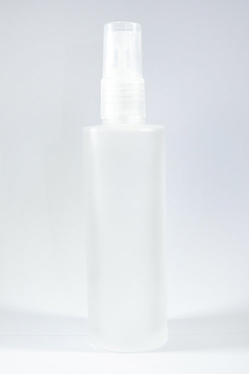 100ml Glass Frosted Bottle with Sprayer