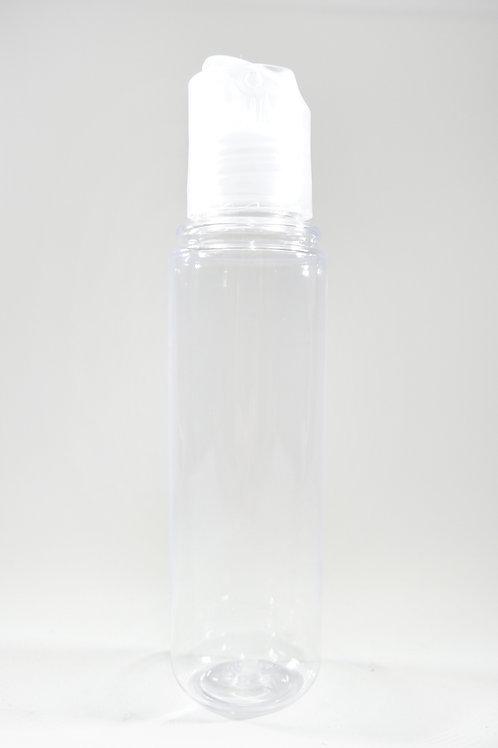 50ml PET Midget Clear Bottle with Disc Cap
