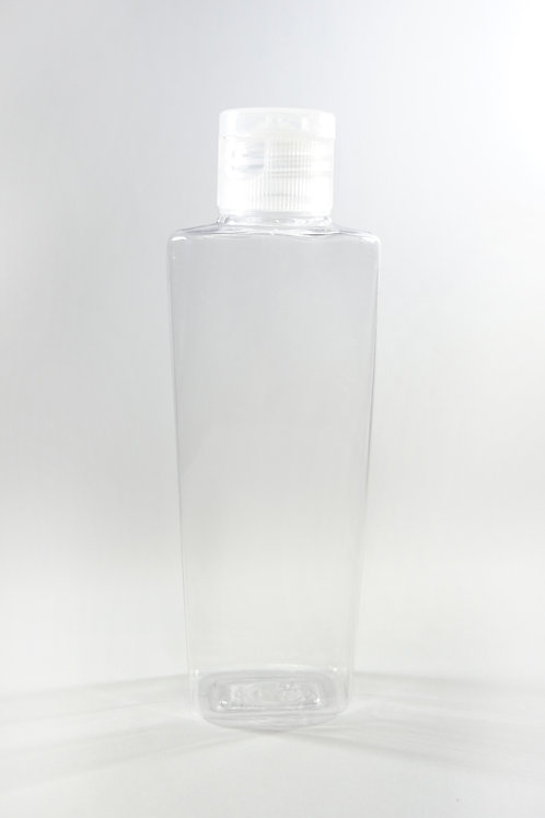 100ml PET Lily Clear Bottle with Flip Cap