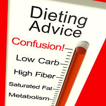 dieting-advice-confusion-monitor-shows-d