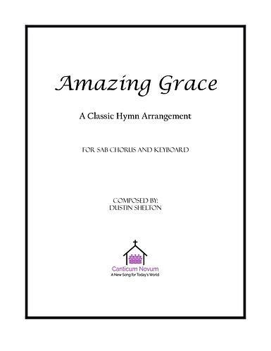 Amazing Grace (SAB)