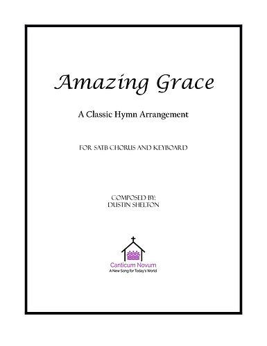 Amazing Grace (SATB)