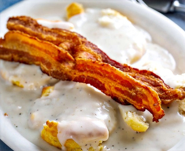 Visit our Family Restaurant in Colfax, NC for delicious breakfast options like homemade biscuits & gravy