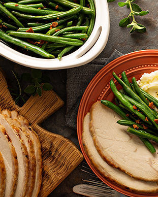 Catering, Events, and Group Dining in Piedmont Triad and Asheville, NC with Moose Cafe Southern Style Restaurant.  Makes me hungry!  Includes Roast Turkey, Freshly Baked Biscuits, Real Mashed Potatoes & Gravy, and Country Style Green Beans.  Get Southern Style Meals at Moose Cafe.311x388.jpg