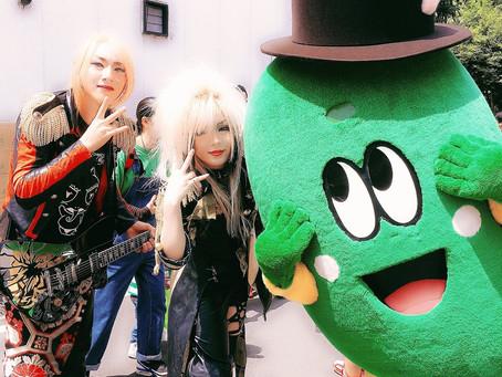 2019/5/12相模原市民『若葉祭り』にてこけ丸とパレード出演!