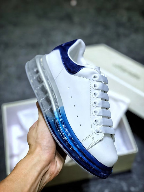ALEXANDER MC QUEEN WHITE-BLUE / AIR SOLE
