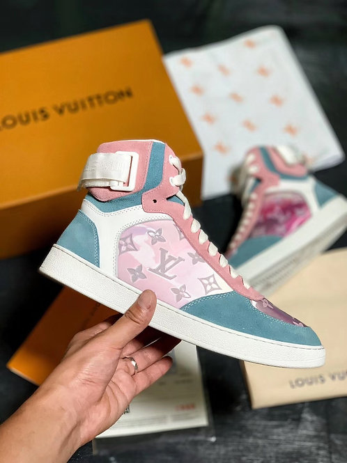 LOUIS VUITTON HIHG PINK/BLUE