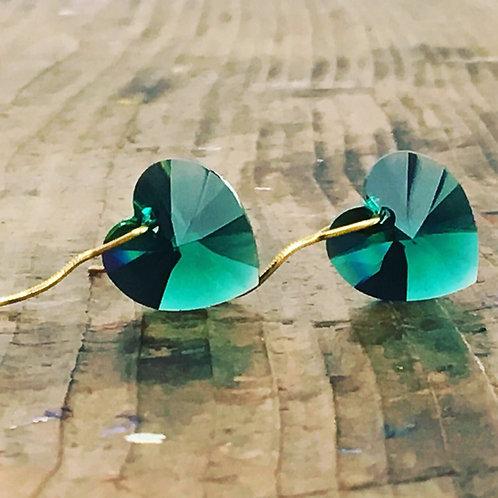 swarovski earrings for valentintes