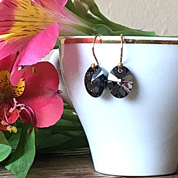 dainty Swarovski Crystal Earrings