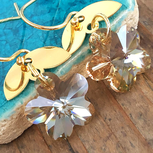 Stunning Handmade Earrings with Swarovski Crystals by CristalChic