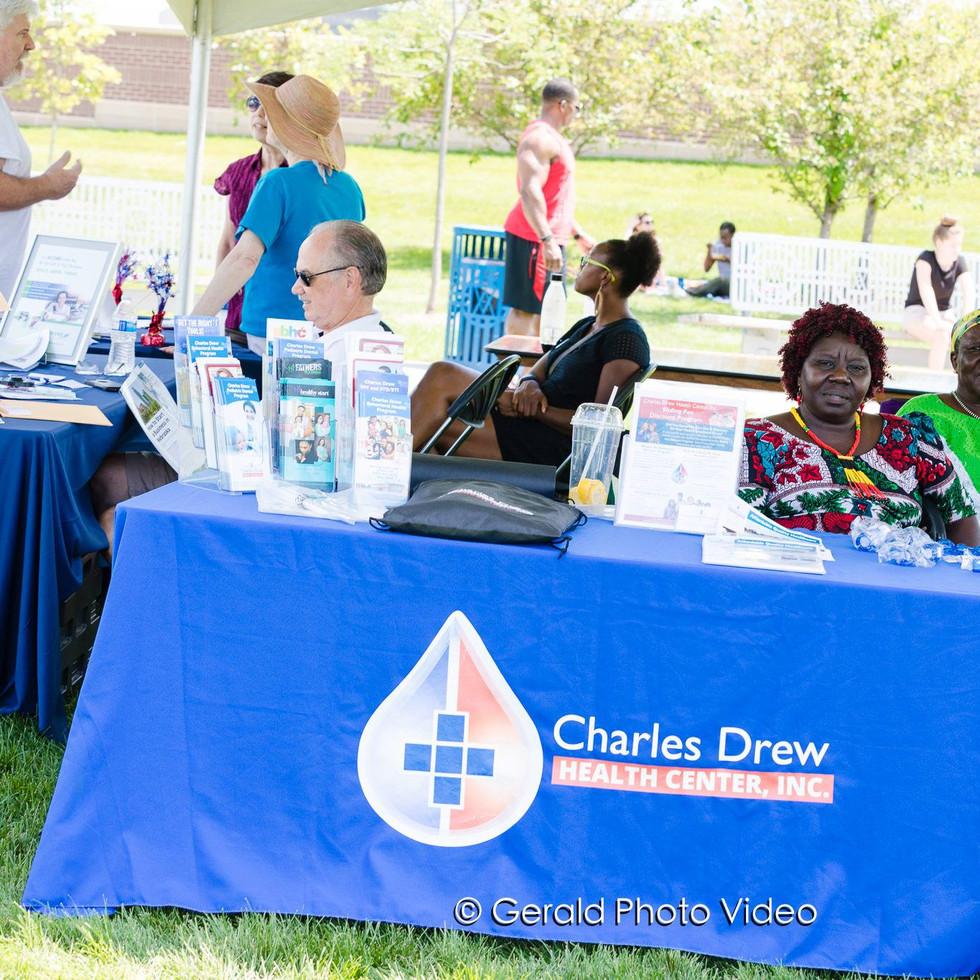 Charles Drew's table