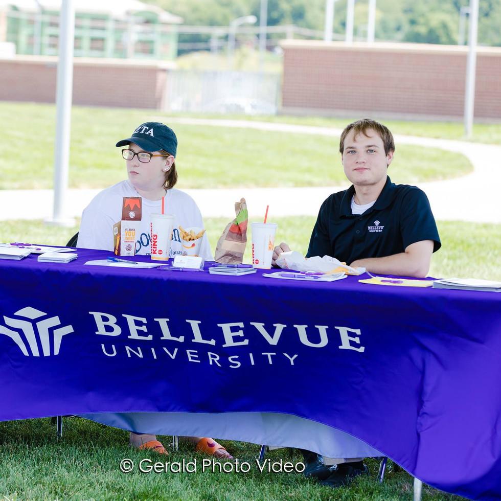 Bellevue University's Table