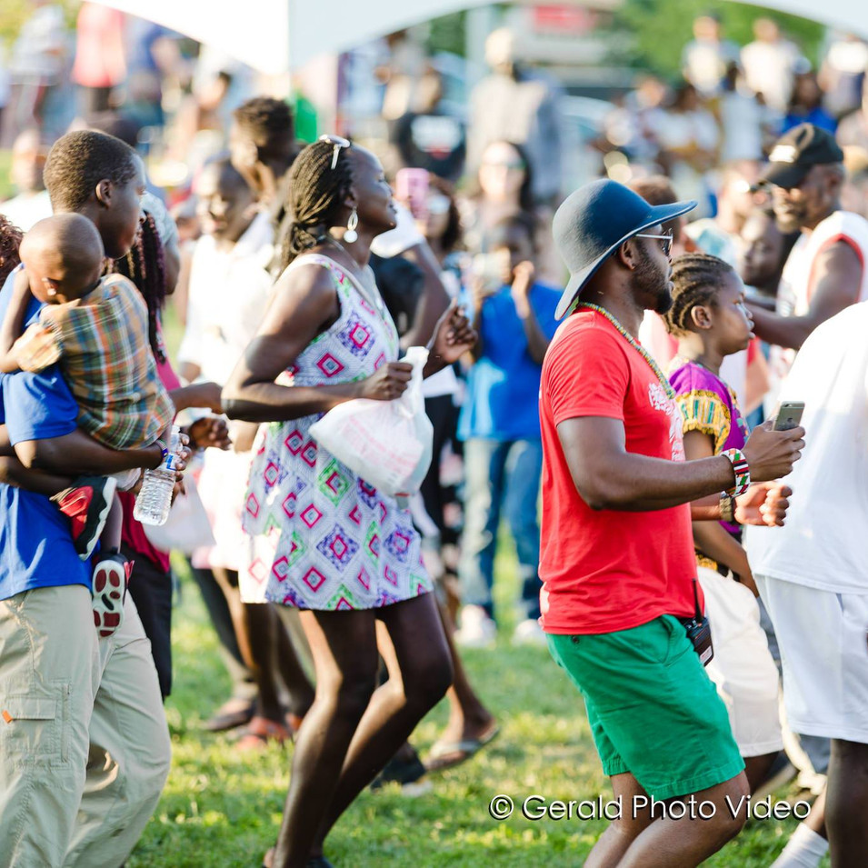 South Sudanese Dance Circle