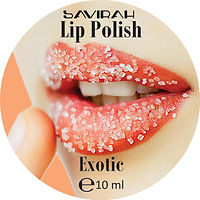Savirah Lip Polish Exotic Round Label.jp