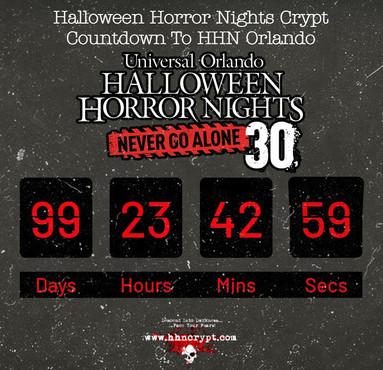 Counting Down to #HHN30??