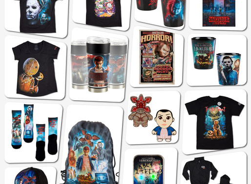 #HHN28 Universal Orlando Merchandise Now Available!