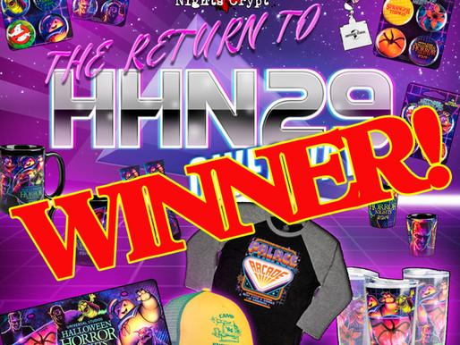 #HHNatHOME Winners!