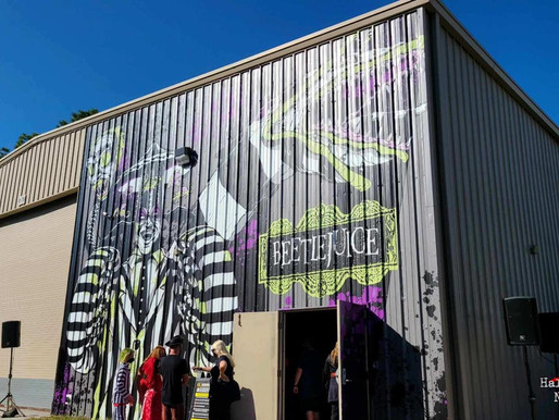 Universal Orlando Surprises Guests with Beetlejuice Haunted House