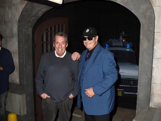 Ghostbusters Legends Dan Aykroyd and Ivan Reitman