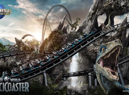 Universal Announces New Jurassic World-Themed Coaster!