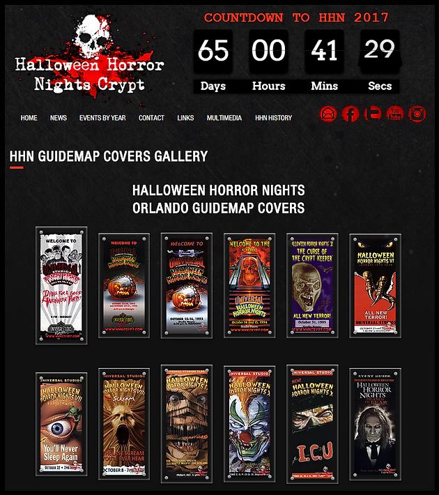 HHN Guidemaps Gallery   Halloween Horror Nights Crypt