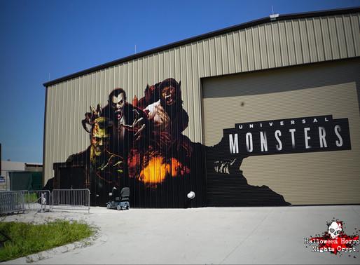 Flashback: Universal Monsters Haunted House 2019