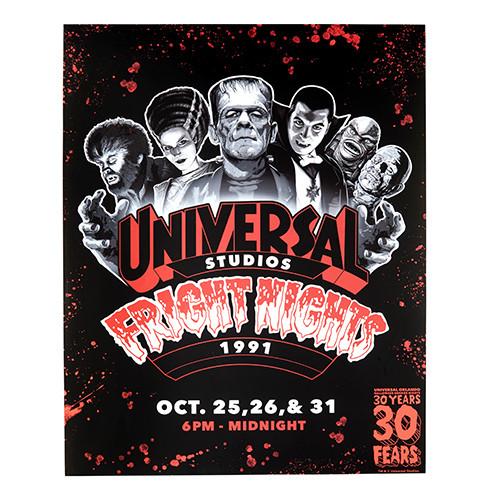 L-Retro-Fright-Nights-1991-Monsters-Post