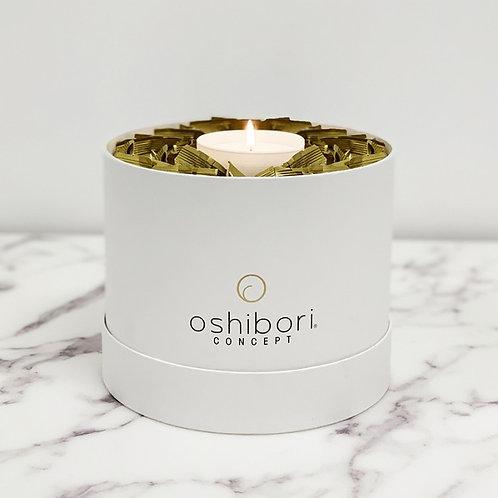 OSHIBORI - Boîte Vendôme de 20 Oshibori neutre or