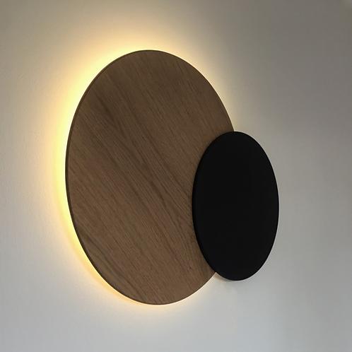 DIKROMA - Grande éclipse lumineuse en bois