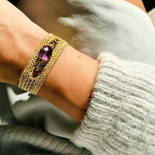 NUNKIBYSL - Bracelet CYMBAE Améthyste