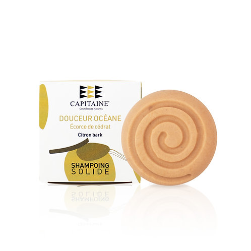 CAPITAINE COSMÉTIQUES - Shampoing solide « Douceur Océane » - 85g