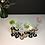 "Thumbnail: DIKROMA - Vase en verre et bois ""SixFleurs"""