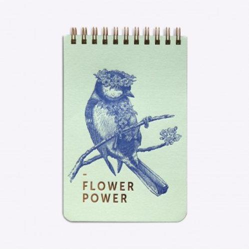 LES EDITIONS DU PAON - Petit bloc flower power