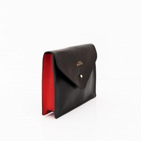 ATELIER BALTUS - Pochette Angèle / Cuir rouge
