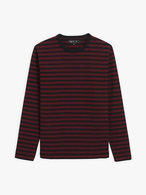 AGNÈS B - T-shirt Coulos - Noir/Vésuve