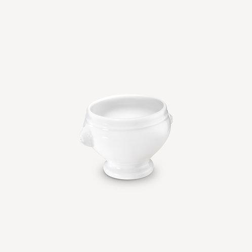 PILLIVUYT - Soupière tête de lion en porcelaine