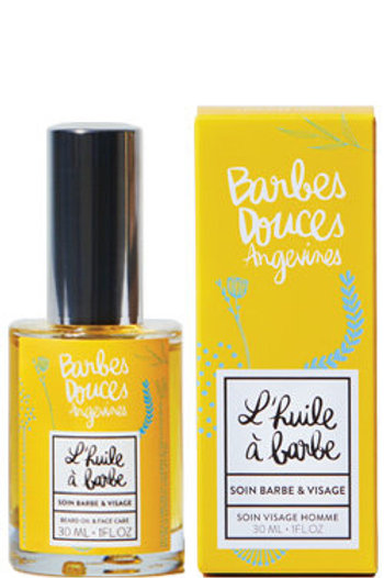 DOUCES ANGEVINES- L'huile à barbe