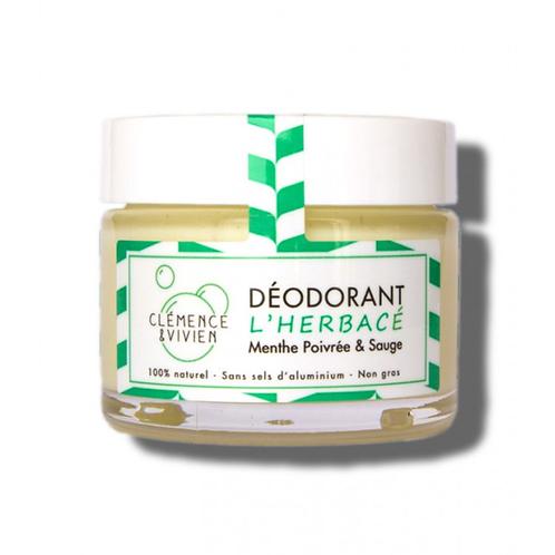 CLÉMENCE & VIVIEN - Déodorant naturel L'Herbacé