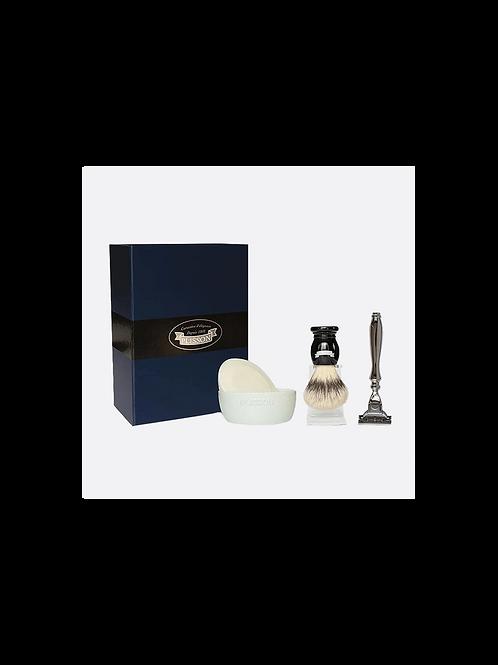 PLISSON 1808 - Set cadeau rasage avec savon à barbe