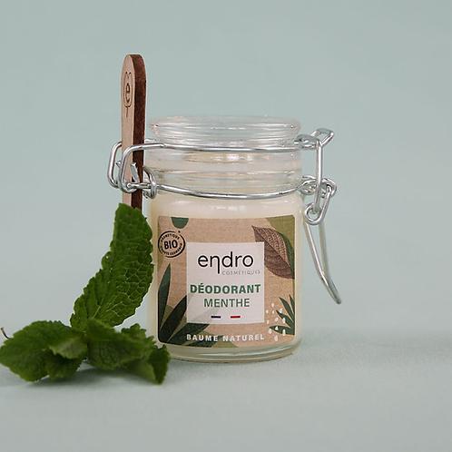 ENDRO - Déodorant baume Menthe Poivrée - Cèdre