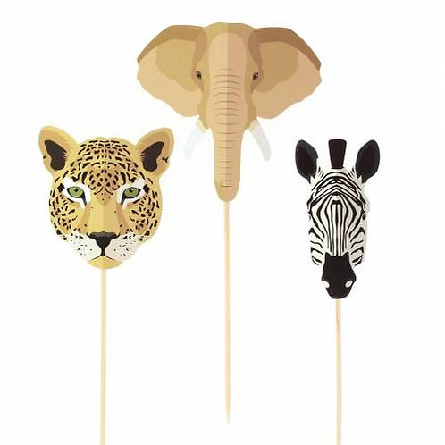 ANNIKIDS - Cake Toppers Savane - Recyclable