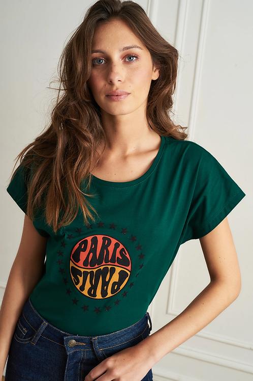 LA PETITE FRANÇAISE - T-shirt Tenace