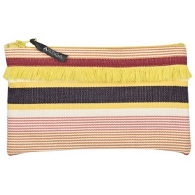 ARTIGA - Trousse franges Garlin Ocre