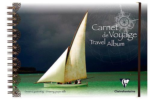 CLAIREFONTAINE - Carnet de voyage 20x20