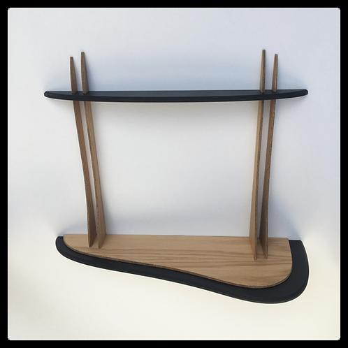 DIKROMA - Etagère design en bois