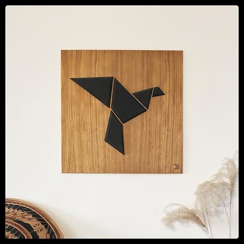 DIKROMA - Oiseau Origami - Envol