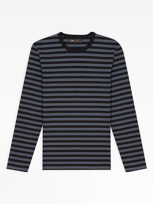 AGNÈS B - T-shirt Coulos - Noir Fonte