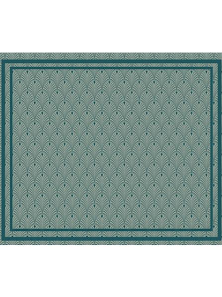 LES GAMBETTES- Tapis Vadim vinyle (120x100cm) - Imprimé Art-Déco