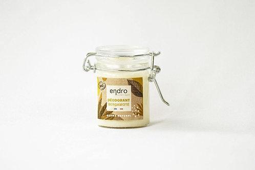 ENDRO - Déodorant baume Bergamote - Arbre à thé