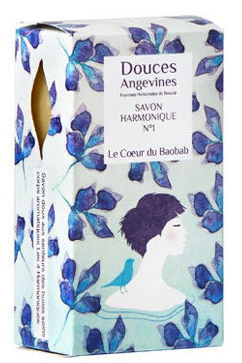 DOUCES ANGEVINES- Savon Le coeur du Baobab 100g